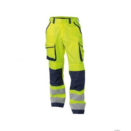 Chicago Pantalon haute visibilité avec poches genoux - Dassy