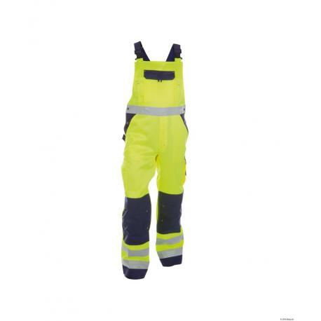 Toulouse Cotte à bretelles haute visibilité avec poches genoux