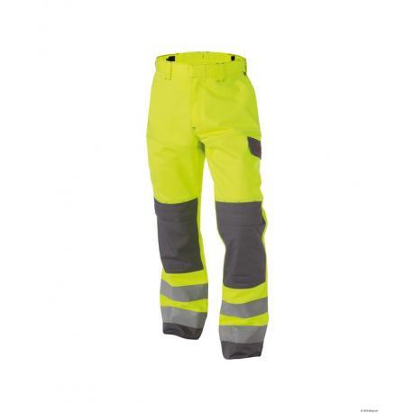 Manchester Pantalon multinorm haute visibilité bicolore avec poches genoux