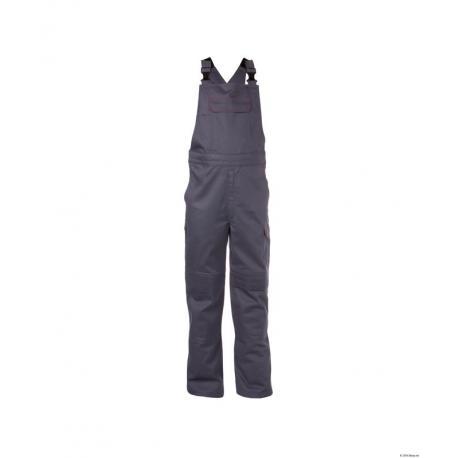 Dakota Cotte à bretelles ignifugée avec poches genoux - Dassy