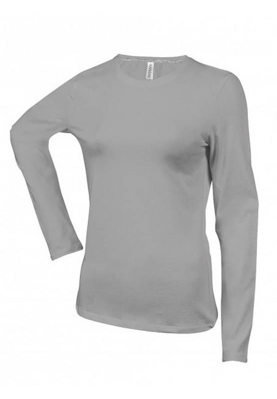 Manches Tee Longues Kariban K383 Avec Pour Femme Shirt WxoeBrdC
