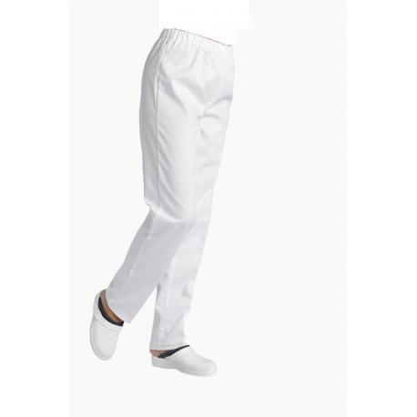 André 180g blanc - Pantalon Mixte