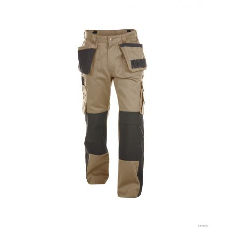 Seattle Pesco 61 pantalon Beige Noir - Dassy - 200428