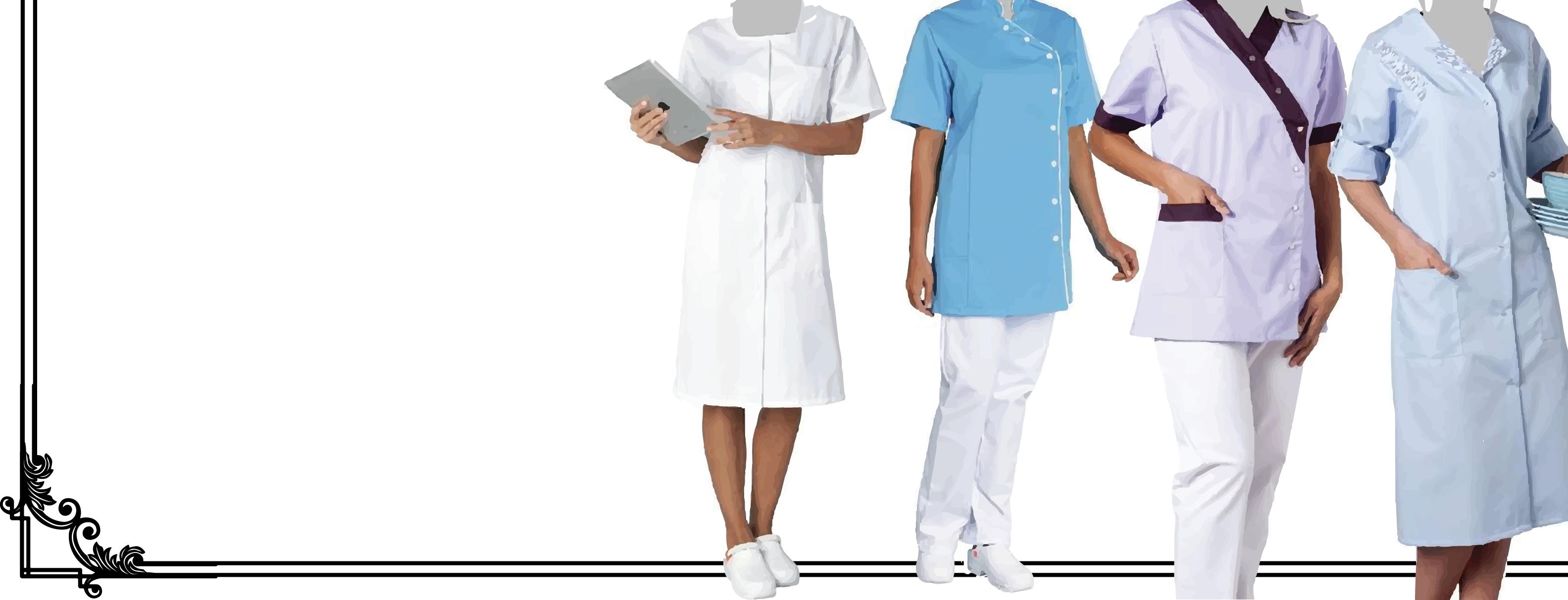 Vêtement de travail médical pour femmes