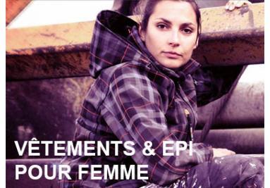 Vêtements de travail femme